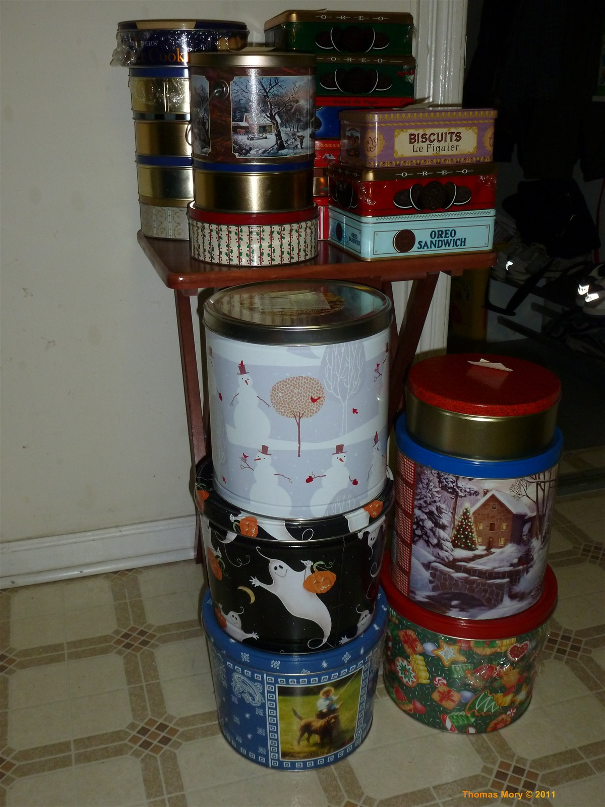 Tins of Cookies